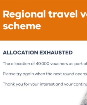 Latest Round of Regional Victoria Travel Vouchers Gone Within 20 Minutes