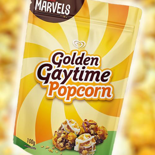 Golden Gaytime Popcorn Is Now A Thing And The Question Is Why Didn't It Already Exist?