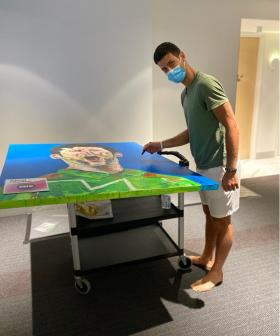 Charity Auction For Signed Novak Djokovic Portrait Is Now Live