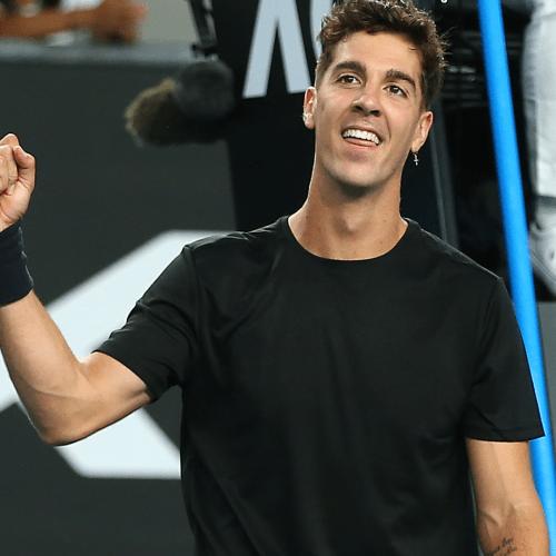 Aussie Tennis Player Thanasi Kokkinakis Is Rocking $6 Kmart Tees On Court