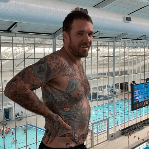 """That Sounded Like It Hurt"": Dane Swan Plunges Himself Into A Pool From 10 Metres"