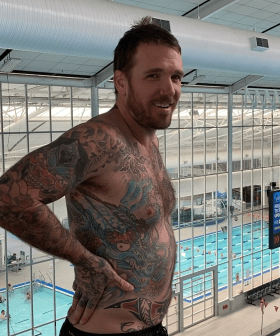 """""""That Sounded Like It Hurt"""": Dane Swan Plunges Himself Into A Pool From 10 Metres"""