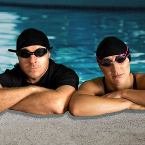 Jase & PJ Prepare To Race World Champion Swimmer James Magnussen In The Pool