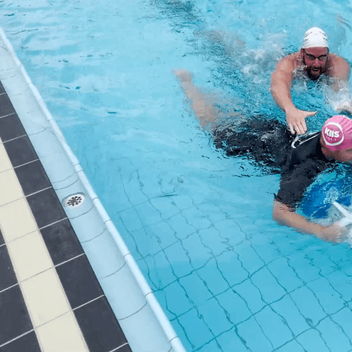 CAN JASE & PJ BEAT OLYMPIAN JAMES MAGNUSSEN IN A SWIMMING RACE