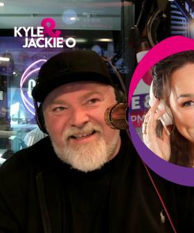 Kate Langbroek reunited with Kyle & Jackie O 👄