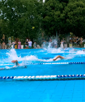 MELBOURNE TEACHERS RACE FOR $10,000 AT JASE AND PJ'S SWIMMING CARNIVAL