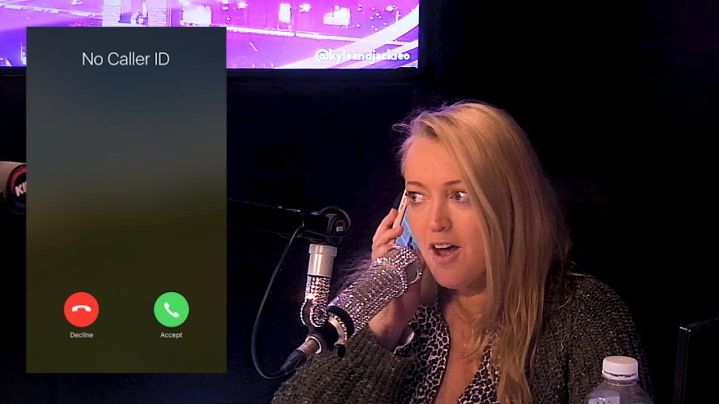 Jackie O's mystery caller revealed!