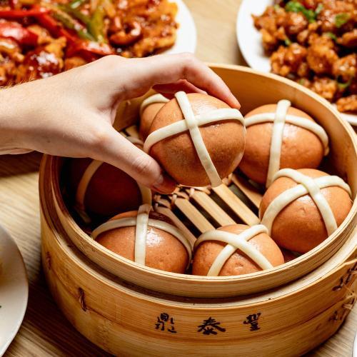 Din Tai Fung Are Doing Hot Cross Baos!!