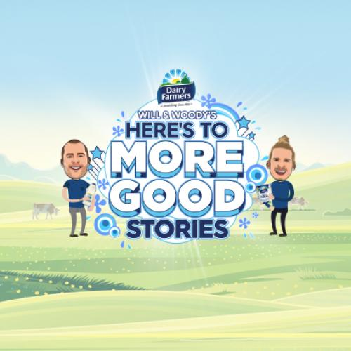 Will & Woody's Here's To MORE Good Stories