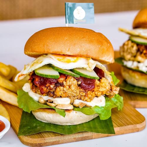 This Malaysian Joint Is Serving Up Nasi Lemak Burgers