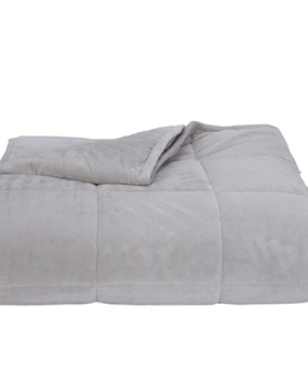 Kmart's Sell-Out $49 Weighted Blanket Is Back In A Brand New Colour