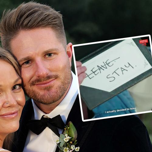 MAFS Bryce Reveals What Melissa Told Him The Night Before The Commitment Ceremony