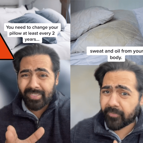 """""""Gross"""": This Viral Video Explains Why You Must Change Your Pillow Every Two Years"""