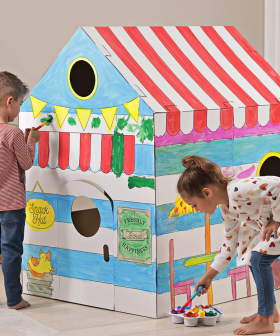 Parents Are Going Wild For Kmart's $29 Cardboard Cubby Houses