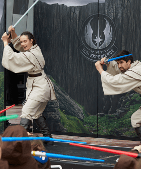 Fed Square Is Transforming Into A Galaxy Far, Far Away For Star Wars Day