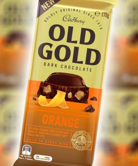 Cadbury Have Just Dropped A New Orange Old Gold Choccy Block