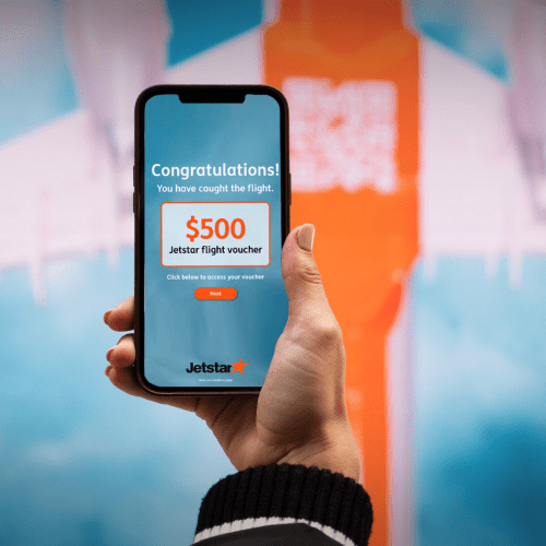 Jetstar Is Giving Out Free Flight Vouchers Today At This Melbourne Train Station