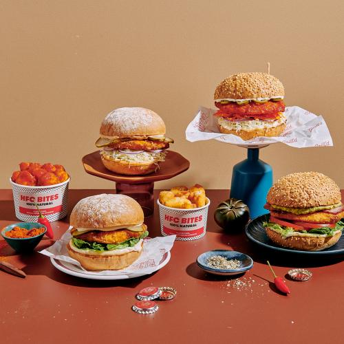 Grill'd Has Dropped Four Delicious Healthy Fried Chicken Burgers