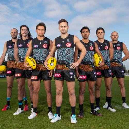 Port Adelaide Footy Club Caught Up In Indigenous Artwork Plagiarism Furore