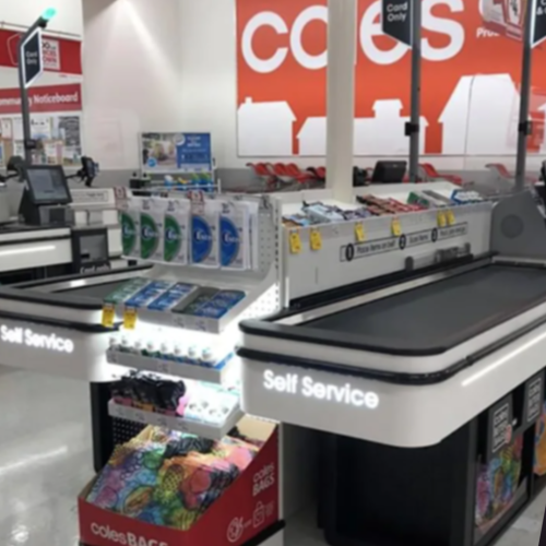Monty's 'Checkout Chick' Dreams Come True With The New Coles Self-Serve