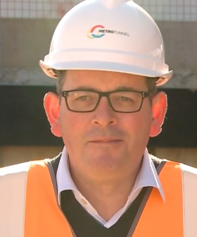 Victorian Premier Daniel Andrews Returns To Work After Over 100 Days