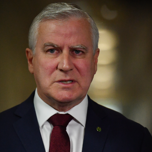 """""""Can You Hear The Frustration In My Voice?"""": Jase Grills Acting PM Michael McCormack"""