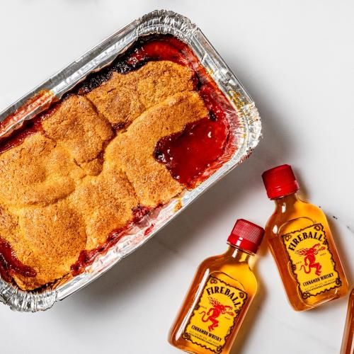 Fireball Whisky Has Dropped A Recipe For Butterscotch Winter Cobbler