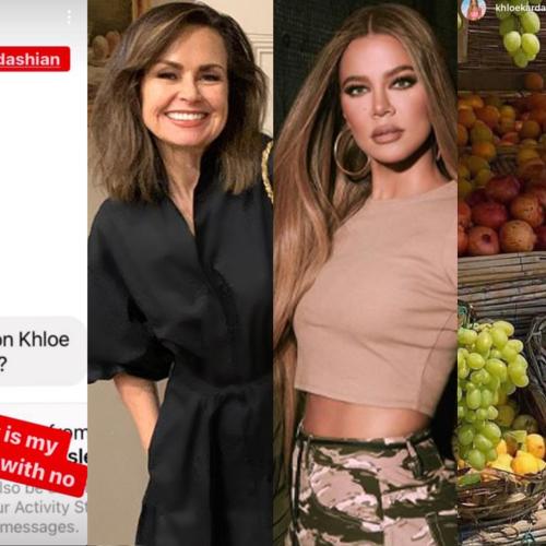 Lisa Wilkinson Explains Her Random Instagram Feud With Khloe Kardashian