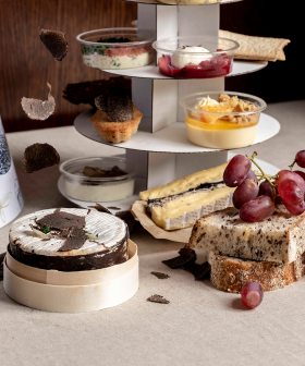 This Melbourne High Tea Dedicated To Cheese Now Has A Truffle Twist