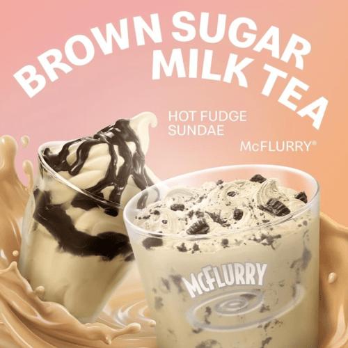 Are Aussie's Are Getting Brown Sugar Milk Tea McFlurries Or Not?!