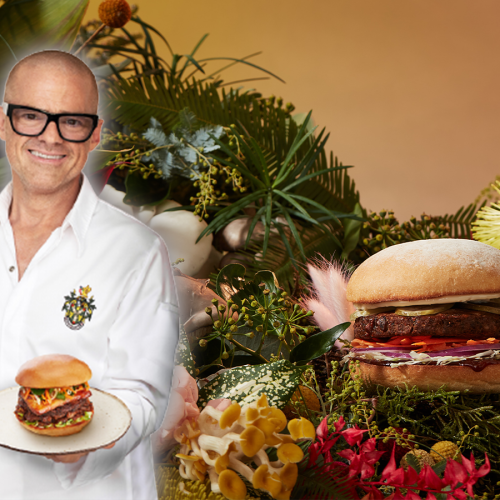 Grill'd & Genius Chef Heston Blumenthal Have Collab'd On 4 Insane Burgers