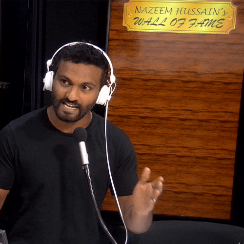 Nazeem Hussain Admits The Massive Bill He Racked Up On Cab Charges