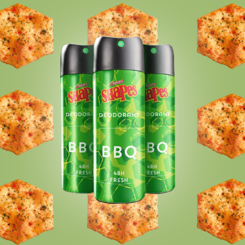 What Are They Smoking In The Arnott's Factory? Would You Buy BBQ Shape Deo?