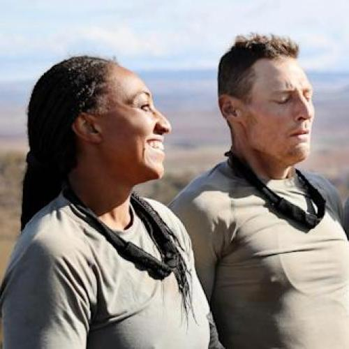 Merrick Watts And Sabrina Frederick Discuss Their Underwear Choice For SAS Australia