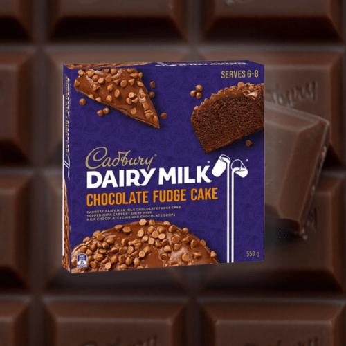 Sara Lee & Cadbury Have Dropped A Dairy Milk Chocolate Fudge Cake