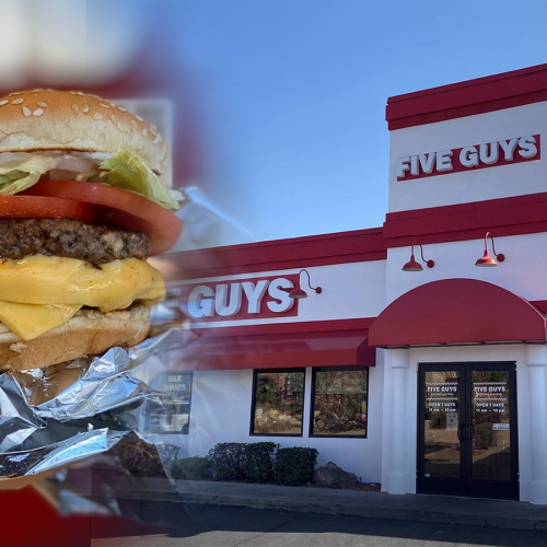 US Burger Chain 'Five Guys' Is FINALLY Opening In Australia Next Week!
