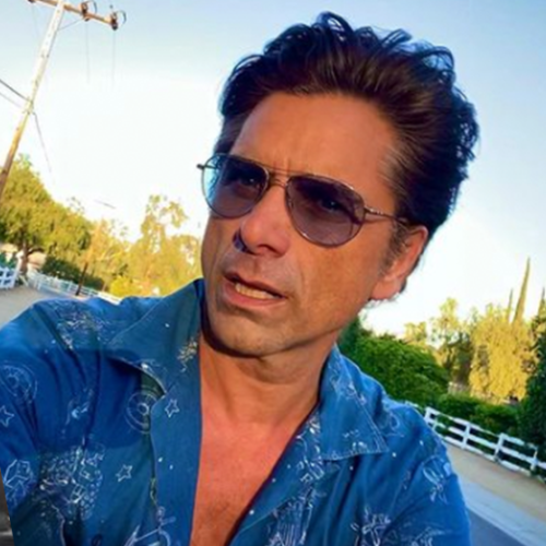 Monty's Son Is Teasing Her Over Her Crush On John Stamos