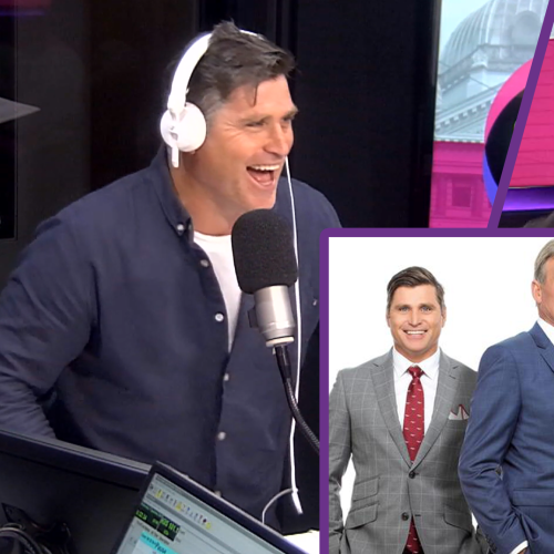 Shane Crawford Reconnects With Sam Newman In Nervous On-Air Phone Call