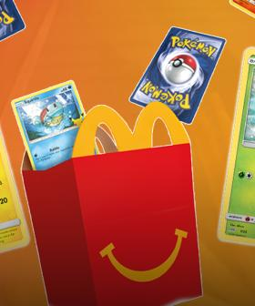 You Can Now Get Official Pokémon Trading Cards With Your McDonald's Happy Meal!