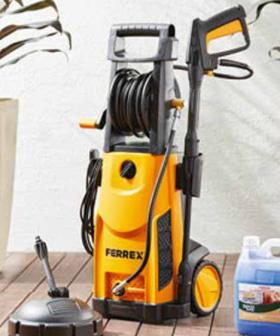Your DIY Project Will Look Profesh As With This ALDI Paint Sprayer & Pressure Washer