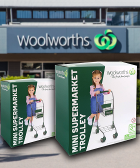 START 'EM YOUNG: Woolies Has Released A $30 Mini Supermarket Trolley
