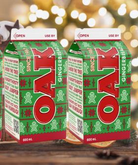 Ho Ho HOMG - Oak Has Dropped Gingerbread Flavoured Milk For The Festive Season