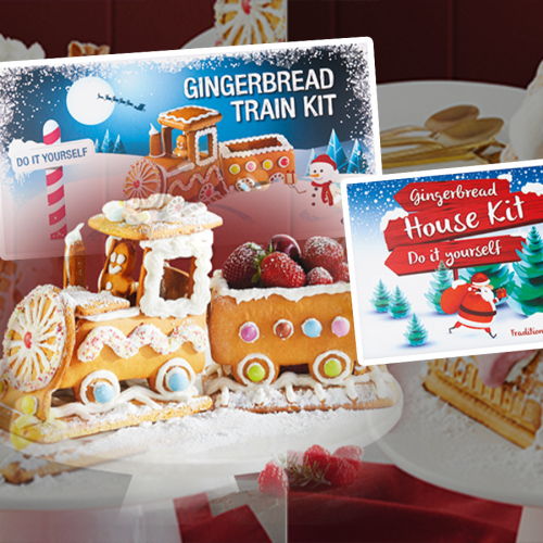 DIY Gingerbread House & Train Kits Are On Sale At ALDI Next Week!