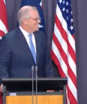 "PM Scott Morrison Reveals How He Felt About That ""Fella Down Under"" Moment With Joe Biden"